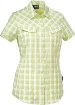 Jack Wolfskin Mara Shirt Women - dames - blouse korte mouw - maat L - geel
