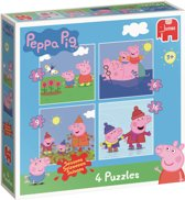 Peppa Pig 4in1 Puzzel