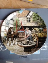 "Wedgwood ""The Wheelwright"" met Certificaat van Echtheid"