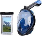 Emesu L/XL Full Face snorkel masker - Duikmasker volwassenen - duikbril - luxe duik set - comfortabele duikmasker - Full face mask -