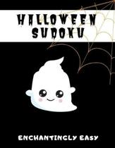 Halloween Sudoku Enchantingly Easy: 100 Easy Puzzles In Large Print Halloween Themed