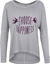 "Yoga-shirt ""Melody"" - stone M Loungewear shirt YOGISTAR"