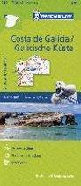 Michelin Zoomkarte Costa de Galicia / Galicische Küste 1 : 150 000