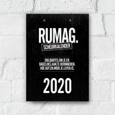 Rumag scheurkalender 2020
