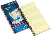 Terugbelboek Atlanta - 74 x 125 mm - 320 vellen