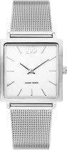 Danish Design IV62Q1248 horloge dames - zilver - edelstaal