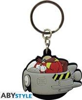 Sonic Dr Eggman PVC Keychain