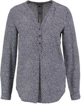 Tommy hilfiger donkerblauwe viscose blouse - Maat S