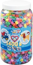 Maxi Strijkkralen pastelkleuren 1400 stuks