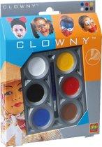 SES Clowny schmink 6 kleuren