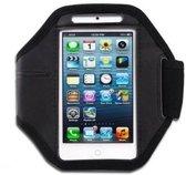 Shop4 - iPhone SE / 5(s) Stevige Sport Armband Zwart