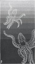Seahorse Octopus - Strandlaken - 100 x 180 cm - Grey