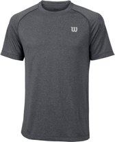 Wilson Mens Crew T-Shirt - Dark Grey
