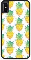 iPhone Xs Hardcase hoesje Pineapple