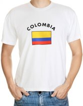 Colombia t-shirt met vlag M