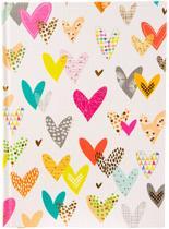 GOLDBUCH GOL-64227 TURNOWSKY A5 gastenboek LOTS OF HEARTS als notitieboekje