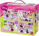 Disney Minnie 4-in-1 puzzel