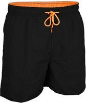 Waimea Zwemshort - Senior - Zwart/Oranje - XL