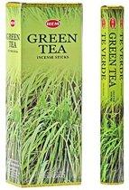 Wierook Groene thee