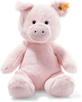 Steiff Soft Cuddly Friends - Oggie pig, pink - 28cm