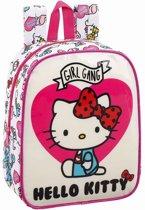 Hello Kitty Girl Gang - Peuter-/Kleuterrugzak  - 27cm - Multi