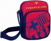 Fc Barcelona Schoudertas Rood 22 X 16 Cm