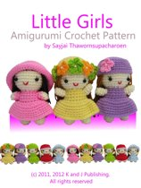 Little Girls Amigurumi Crochet Pattern