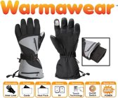 Warmawear Dual Fuel en Burst Power Sport Verwarmde Handschoenen op Batterijen - 3 Warmtestanden L