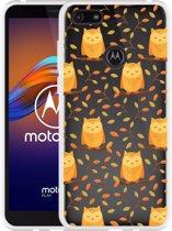 Motorola Moto E6 Play Hoesje Cute Owls