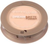 Maybelline - Dream Matte Powder - Poeder - 02 Rose Ivory