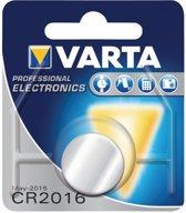 Varta CR2016 knoopcel batterij - 10 stuks