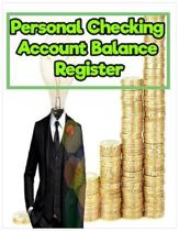 Personal Checking Account Balance Register