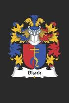 Blank: Blank Coat of Arms and Family Crest Notebook Journal (6 x 9 - 100 pages)