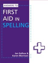 Answers to First Aid in Spelling
