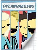 Dylan Haegens Schrift A4 Geruit