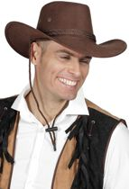 Cowboyhoed Roy bruin