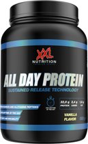 XXL Nutrition All Day Protein - Proteïne Poeder / Proteïne Shake - 1000 gram - Yoghurt Framboos (Limited Edition)