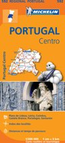Portugal centre 11592 carte 'regional' Michelin kaart