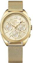 Tommy Hilfiger TH1781488 horloge dames - goud - edelstaal doubl�