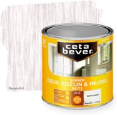 Cetabever Transparant Binnenbeits Deur & Kozijn Ac 0591 White Wash 750Ml