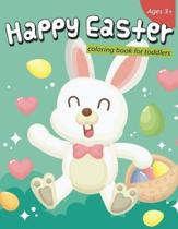 Happy Easter Coloring Book for Toddlers