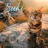 Suki the Adventure Cat 2020 Wall Calendar
