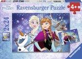 Ravensburger Disney Frozen Noorderlichten Twee puzzels van 24 stukjes