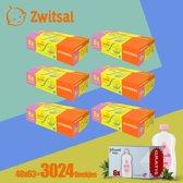 Zwitsal Sensitive Billendoekjes 48 x 63 Grootverpakking - Gratis 6 X Johnsons Baby Olie 200ml