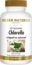 Golden Naturals Chlorella (600 tabletten)