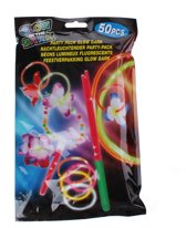 Amigo feestverpakking glowsticks 45-delig