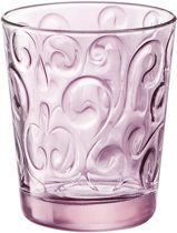 Bormioli Naos Waterglas - 29 cl - Roze - Set-6