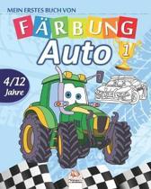 Mein erstes buch von - auto 1: Malbuch f�r Kinder von 4 bis 12 Jahren - 27 Zeichnungen - Band 1