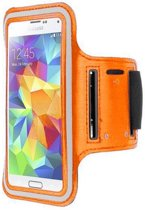 Samsung Galaxy S4 sports armband case Oranje Orange