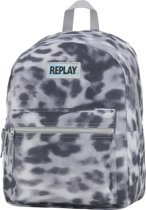 Replay Rugzak - Grey Leopard - Grijs
